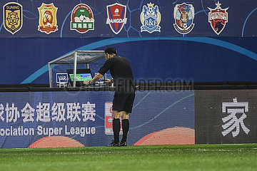 (SP) CHINA-DALIAN-FOOTBALL-CHINESE SUPER LIGA-SHANDONG luneng VS HENAN Jianye (CN)