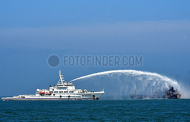 CHINA-Dschangtse ESTUARY-SHIP COLLISION (CN)