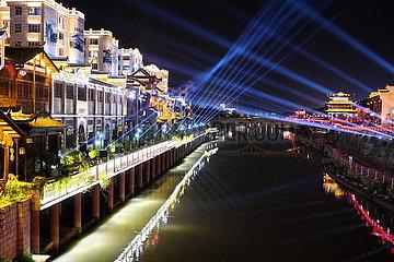 CHINA-FUJIAN-Changting-alte Stadt (CN)