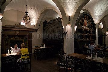Deutschland  Bremen - Bremer Ratskeller  Gastronomie im Keller des Ratshauses seid 1405