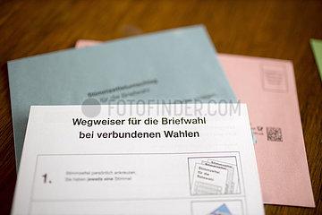 Postal voting documents