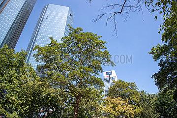 Deutsche Bank Sitz in Frankfurt