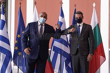 GRIECHENLAND-ATHEN-BULGARIEN-LNG-ABKOMMEN