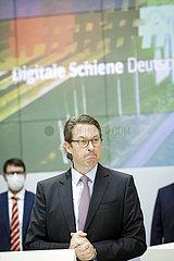 Bund und DB starten Vorzeigeprojekt Digitale Schiene