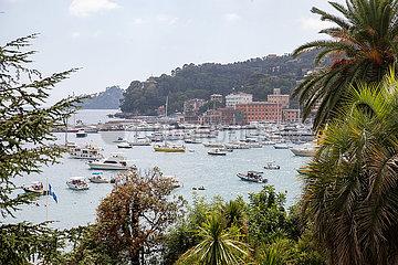 Tourismus mit steigenden Ansteckungszahlen in Santa Margherita Ligure