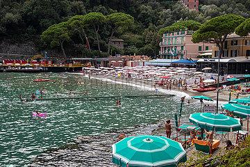 Tourismus trotzsteigenden Ansteckungszahlen in Ligurien