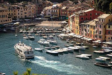 Tourismus in Portofino