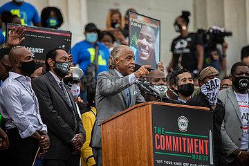 Black Lives Matter Großdemo in Washington