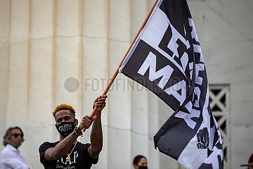 Black Lives Matter Großdemo in Washington