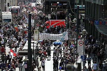 Demo von Corona-Skeptikern am 29.08.2020