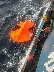 CHINA-FUJIAN Fischerboot-SINK (CN)