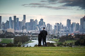 AUSTRALIEN-VICTORIA-COVID-19-SPERRE-ECONOMY