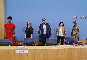 Bundespressekonferenz zum Thema: Anti-Rassismus Plan 2025