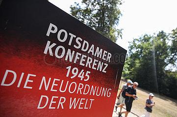 DEUTSCHLAND-POTSDAM-Schloss Cecilienhof