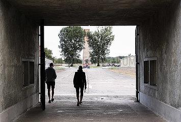 DEUTSCHLAND-ORANIENBURG-Gedenkstätte Sachsenhausen