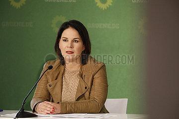 Pressekonferenz: Klausur des Bundesvorstandes von Buendnis 90/ die Gruenen