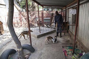 ZAMBIA-LUSAKA-TIERHEIM ZAMBIA-LUSAKA-TIERHEIM