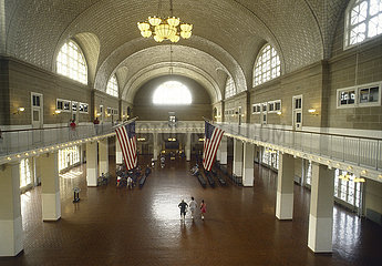 USA  New York City - Ellis Island  frueher erste Station fuer alle Immigranten in den USA