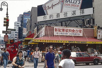 USA  New York City - Strassenszene in Chinatown