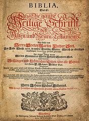 Bibel  Nuernberg  1720