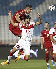 (SP) SERBIEN-BELGRAD FOOTBALL-Uefa Nations League LIGA-B-GRUPPE 3-SERBIA vs Türkei