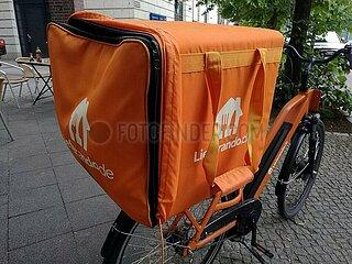 Lieferando-Fahrrad