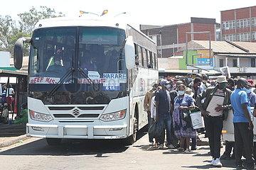 SIMBABWE-HARARE-PUBLIC TRANSPORT-FARE-HIKE