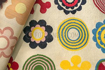 Teppich  Teppichmuster  1970er Jahre