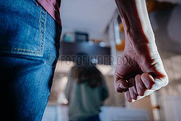 Paar Streit  Gewalt  Ehe  streiten  Diskussion  Aggresion