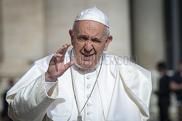 Pope Francis General Audience May 29  2019