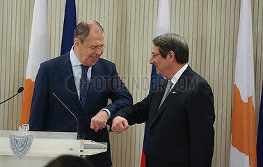 Zypern-RUSSIA-FM-VISIT