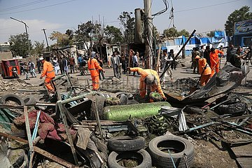 AFGHANISTAN-KABUL-Bombenanschlag