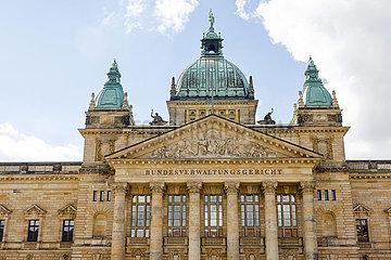 Bundesverwaltungsgericht  Leipzig  Sachsen  Deutschland