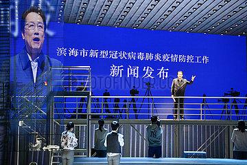 CHINA-TIANJIN-CULTURE-DRAMA Darsteller (CN)