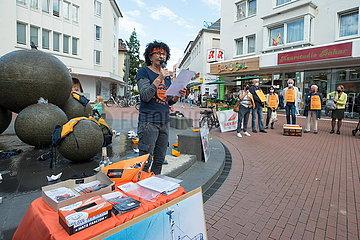 Alan Kurdi Gedenk Kundgebung
