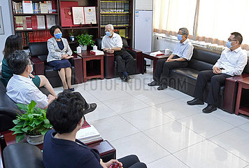 CHINA Beijing-SUN CHUNLAN-Tag des Lehrer (CN) CHINA Beijing-SUN CHUNLAN-Tag des Lehrers (CN)