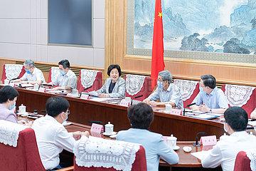 CHINA Beijing-SUN CHUNLAN-Tag des Lehrers (CN)