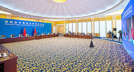 CHINA-PEKING-LIU HE-EU-DIALOG (CN)
