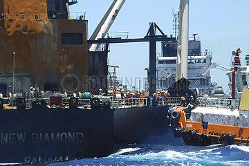 SRI LANKA-Öltankers-PRÜFUNG