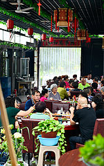 CHINA-TIANJIN-TOURISMUS AUF DEM LAND CHINA-TIANJIN-TOURISMUS AUF DEM LAND