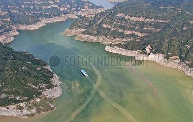 CHINA-HENAN YELLOW-RIVER-SZENISCHER AREA-Tourismus (CN)