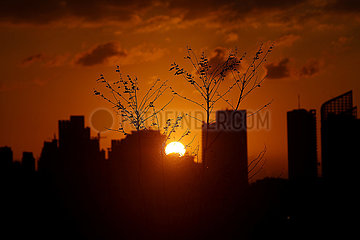 LIBANON-BEIRUT-SUNSET LIBANON-BEIRUT-SUNSET