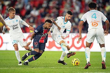 (SP) Frankreich-Paris-FOOTBALL-PSG VS MARSEILLE