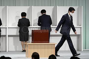 JAPAN-TOKYO-Yoshihide Suga-LDP-LEADERSHIP-WAHLEN