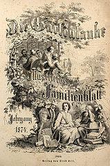Die Gartenlaube  Illustriertes Familienblatt  1874