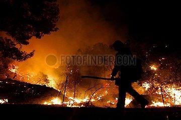 US-CALIFORNIA-Wildfire