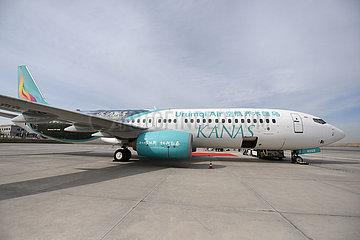 CHINA-XINJIANG-URUMQI-kanas-Themen-Flugzeug (CN)