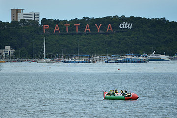 THAILAND-PATTAYA-COVID-19-ALLTAG