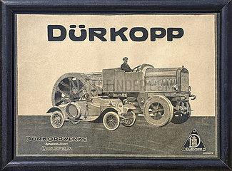 Duerkoppwerke Bielefeld  Werbeanzeige  1918