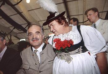 Peter Gauweiler  CSU  bayerischer Umweltminister  Wahlkampf 1994